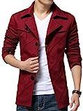 【four clover】メンズ アウター ジャケット コート 綿100% トップス 秋 冬 カジュアル オシャレ カッコいい エコバッグ付き