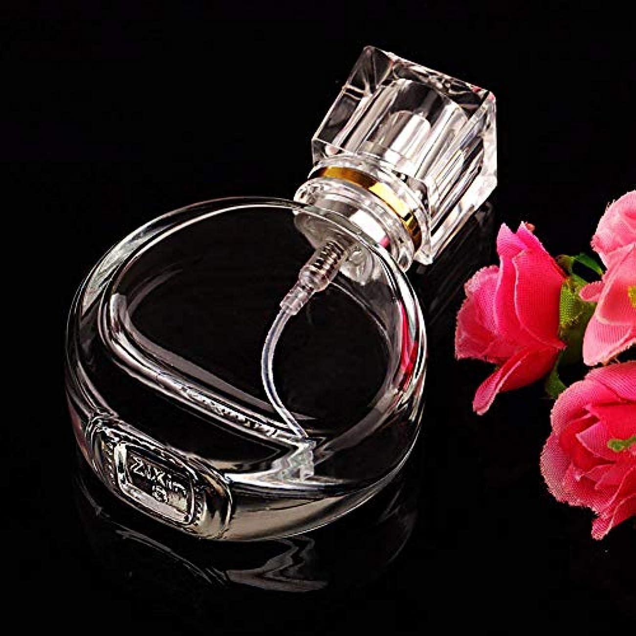 保証金予定曇ったVERY100 高品質ガラスボトル 香水瓶  アトマイザー  25ML 透明 シンプルデザイン ホーム飾り 装飾雑貨