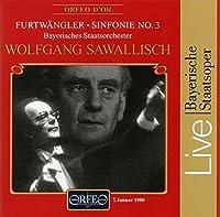 Symphony No. 3 by WILHELM FURTW脛NGLER (1996-05-21)