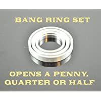 Bang Ring Set - For Scotch Soda, Dime & Penny, Spy Coins, Magic Tricks by Flosso [並行輸入品]