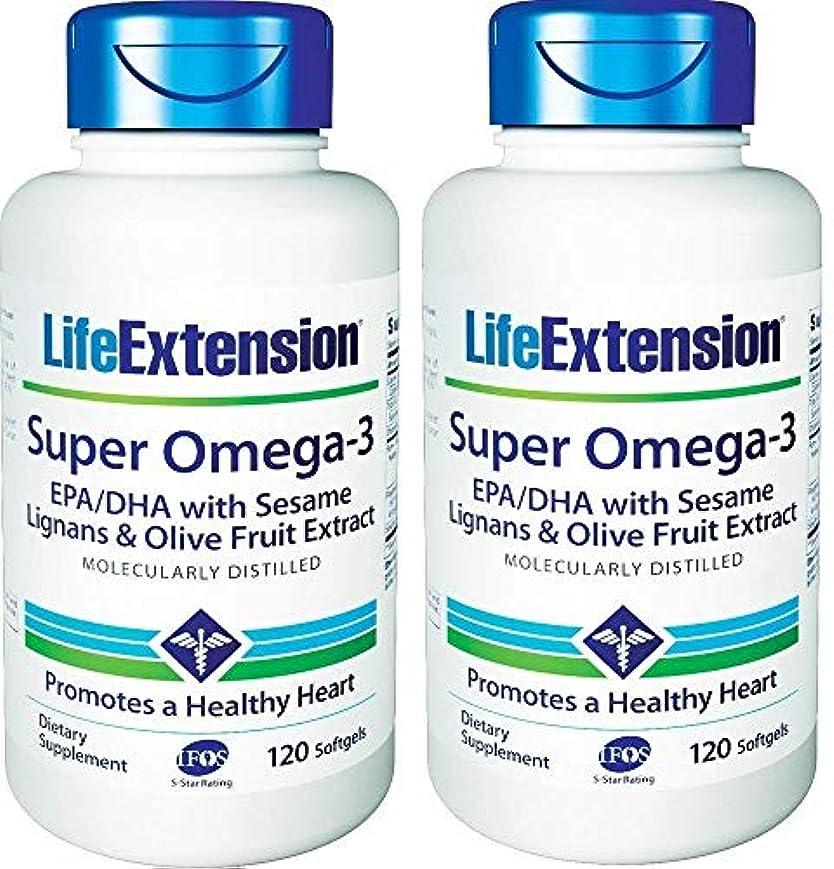 長いです風変わりな汚れるLife Extension - Super Omega-3, EPA/DHA with Sesame Lignans & Olive Extract - 120???????