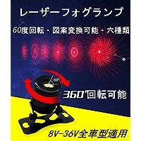 新品 レーザーフォグランプ RMS レーザー テールライト 追突防止 警告灯 6種類図案 8V-36V車型適用 防曇性 防水 1年保証 車用も オートバイも適用 バックフォグ