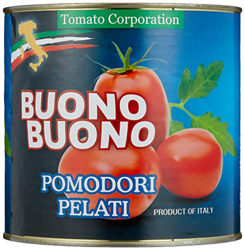 トマトコーポレーション業務用ホールトマト(イタリア産)1号缶2550g ×6個