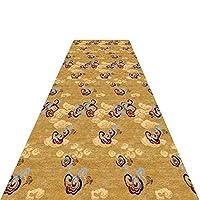 廊下敷きマット 長い廊下/キッチンランナーの狭い敷物、ホール&階段カーペットランナー、滑り止め、60cm / 80cm / 90cm / 100cm / 120cm / 140cm幅 (Color : Style 2, Size : 0.6x6m)