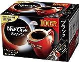 【ケース販売】ネスカフェ エクセラ スティック ブラック 100P×10箱【レギュラーソリュブルコーヒー】【個包装 スティックタイプ】【大容量】