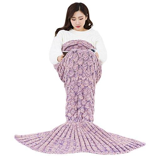 Fablight 人魚姫 ブランケット 着る毛布 かい巻き ...