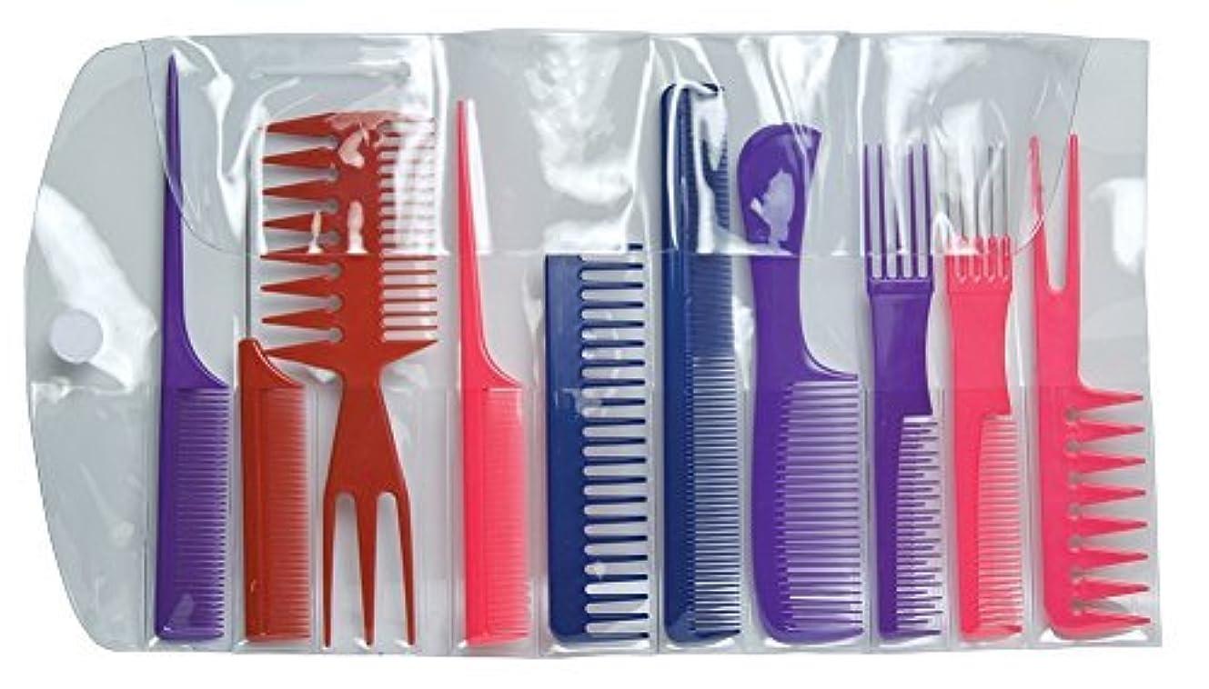 鼓舞する宴会コスチュームDiane Assorted Comb Kit 10Count [並行輸入品]