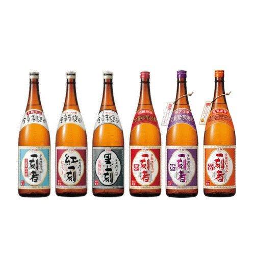 【芋焼酎】【飲み比べ】小牧醸造 芋焼酎 一刻者シリーズ 紫・茜入り 1800ml×6本 飲み比べセット