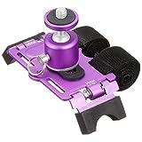 METRIX カメラマウント デジカメ用コンパクト アクションマウント (ボール雲台付) PS-13B パープル PS-13B-VI