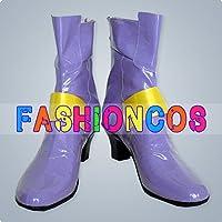 ★サイズ選択可★女性22CM UA0833 魔法少女リリカルなのは フェイト コスプレ靴 ブーツ