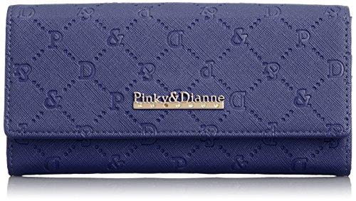 [ピンキーアンドダイアン] Pinky&Dianne サフィアーノエンボス 薄型長財布