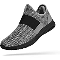 Troadlop Womens Sneakers Lightweight Breathable Mesh Slip On Walking Shoes