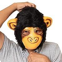 チンパンジーハーフ ラバーマスク リアルマスク かぶりもの コスプレ ユニセックス