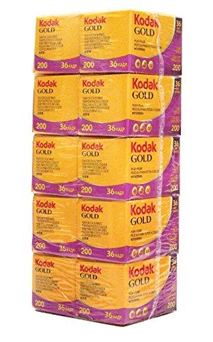 コダック/KODAK カラーネガフィルム GOLD 200-36EX  10本パック