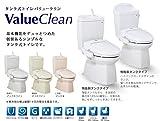ジャニス タンク式トイレ バリュークリン 樹脂製タンク 手洗なし 仕様:壁 一般地【SC0840-PGB-SV1900-0EF】 カラー:LR8