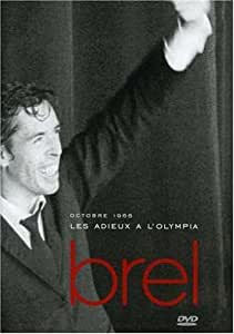 Adieux a L'Olympia Amaray Version [DVD] [Import]