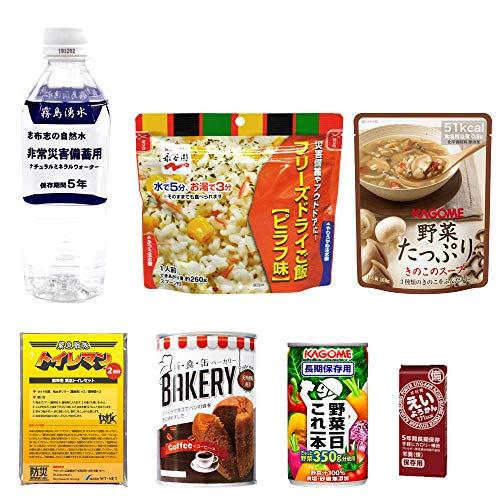 MT-NET 【防災専門店の 非常食セット 】 非常食 お試しパック 長期保存 〔 防災グッズ 食品 〕