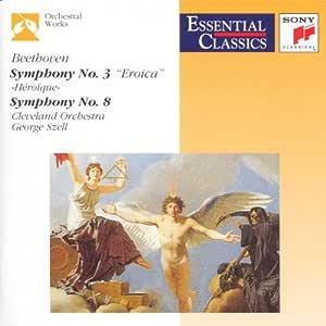 Beethoven;Symphonies 3 & 8