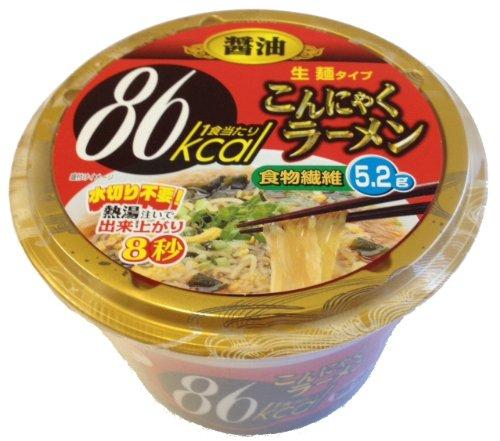 ナカキ食品 こんにゃくラーメン 醤油149g×12食