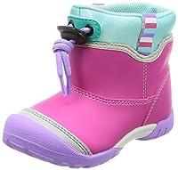 [ムーンスター] ブーツ 防水 軽量 ドローコード 15-19cm(0.5cm有) 2E キッズ MS C2185 ピンク 17.0 cm