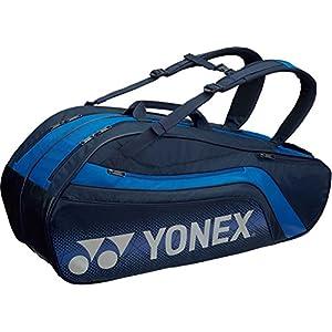 ヨネックス(YONEX) テニス ラケットバッグ6(リュック付) テニスラケット6本用 BAG1812R ネイビーブルー(019)