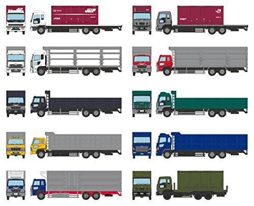 ザ・トラックコレクション トラコレ 第10弾 BOX ジオラマ用品 (メーカー初回受注限定生産)