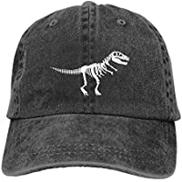 Waldeal Boy Printing Dinosaur Baseball Caps Cute Vintage Adjustable Kids Dad Hats for 3-12 Years