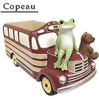 Copeau(コポー) プランターカバー レトロバス 71675