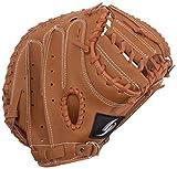 GP (ジーピー)野球 軟式 キャッチャーミット ブラウン 36877Y