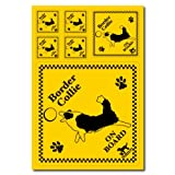 ザ・ブラックラブカンパニー オンボード ステッカー / ボーダーコリー 2 /全70犬種!犬グッズ専門店 オリジナル 車 防水 シルエット
