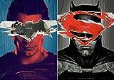 映画 バットマン vs スーパーマン ジャスティスの誕生 ポスター 【2枚セット】 42x30cm Batman v Superman: Dawn of Justice 2016 ヘンリー カヴィル ベン アフレック [並行輸入品]