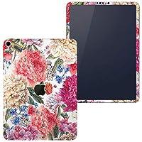 igsticker iPad Pro 11 inch インチ 対応 シール apple アップル アイパッド 専用 A1934 A1979 A1980 A2013 全面スキンシール フル タブレットケース ステッカー 保護シール 011883 花柄 赤 ピンク