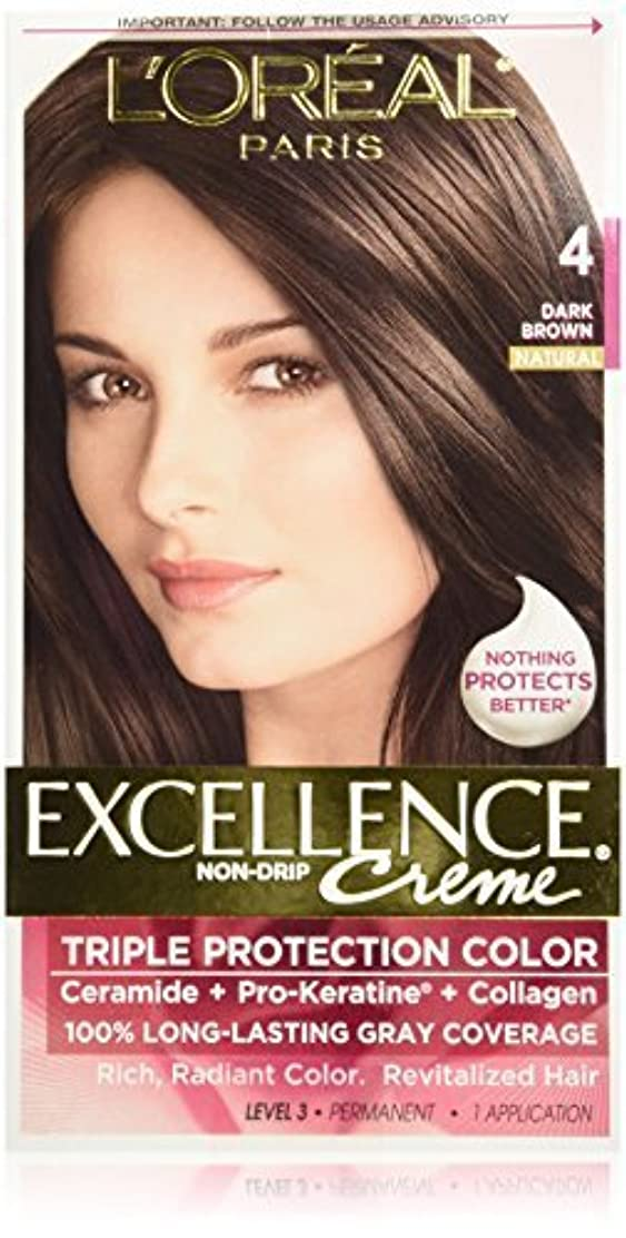 キャロライン役員うねるExcellence Dark Brown by L'Oreal Paris Hair Color [並行輸入品]