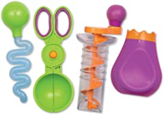 Learning Resources LER5559 Sand And Water Fine Motor Set (3 Piece),Multicolor,4Piece