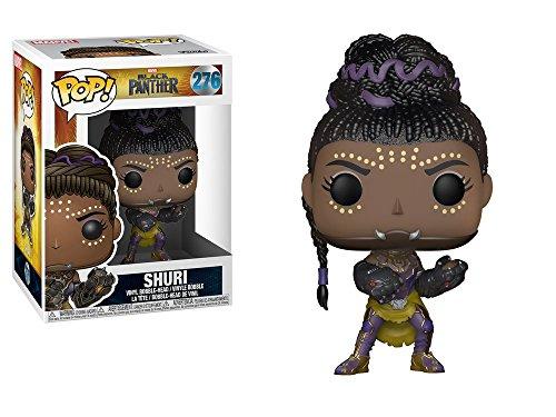 Marvel(マーベル) Black Panther(ブラックパンサー) シュリ Funko/ファンコ Pop! Marvel VINYL ボブルヘッド [並行輸入品]