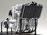 タミヤ 1/6 オートバイシリーズ No.23 カワサキ Z1300 エンジン プラモデル 16023 画像