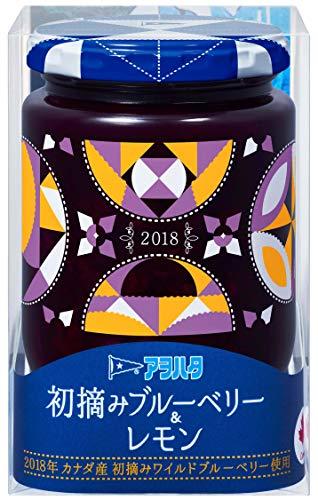 アヲハタ 初摘みブルーベリー&レモン 260g