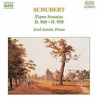 Piano Sonatas 958 & 960