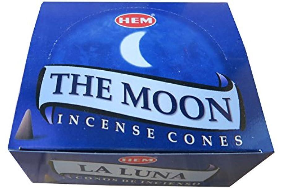 裕福な小切手恵みHEM社 コーン型インドお香 THE MOON