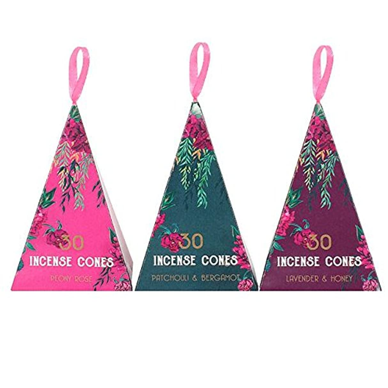 ノーブル消費者受け入れたLuxury Oriental Flight 3Pack Of 12 Incense Cones Pack Of 12