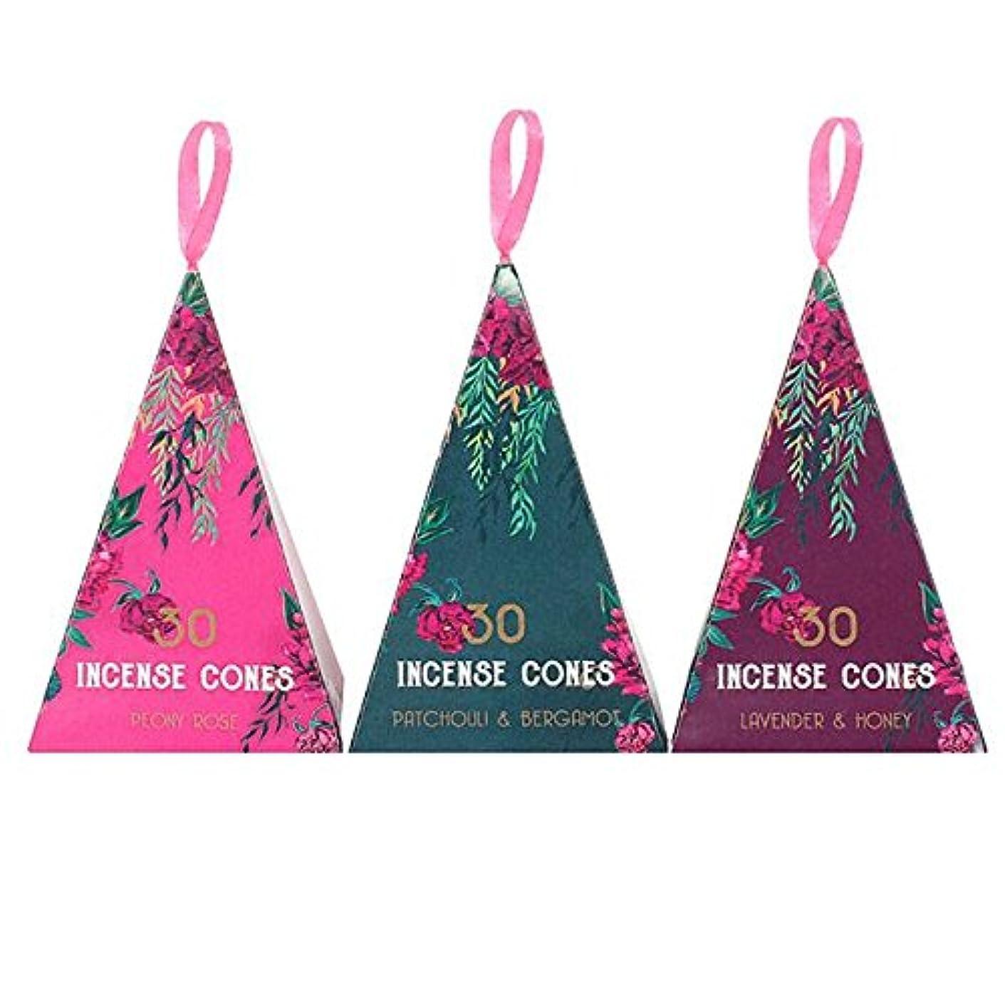 ピクニック契約するお風呂Luxury Oriental Flight 3Pack Of 12 Incense Cones Pack Of 12