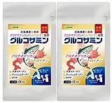 Ⅱ型コラーゲン配合 グルコサミン + プロテオグリカン & コンドロイチン (鮭由来) + MSM (約6ヶ月分/540粒)
