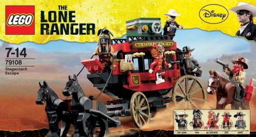 レゴ ローンレンジャー 馬車での逃走 79108