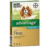 Advantage Dog 4-10kg Aqua 6 Drops