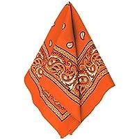 [Amscan]Amscan Western Cowboy MultiPurpose Bandana , Orange, 7.8 x 5.25 255561.05 [並行輸入品]