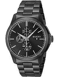 [グッチ]GUCCI 腕時計 ブラック文字盤 YA126274 メンズ 【並行輸入品】
