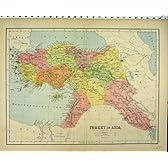 内陸旧式な色 Mapt C1880 トルコアジア