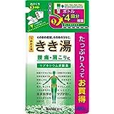 【医薬部外品】きき湯炭酸入浴剤 マグネシウム炭酸湯 つめかえ用480g 透明湯 温泉成分 発泡タイプ