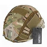 OneTigris ヘルメット迷彩カバー Fastヘルメットに PJ / MHタイプ  軍用カバー サバゲー装備   (マルチカム迷彩--ZKB)