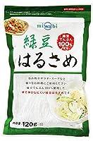 丸成商事 miwabi 緑豆春雨(ストレート)120g×10個